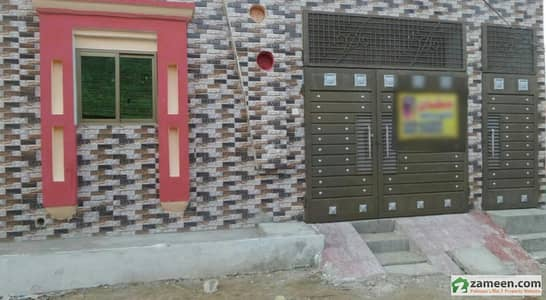 Single Story Brand New Beautiful Furnished Corner House For Sale At Makkah Madni Town, Okara
