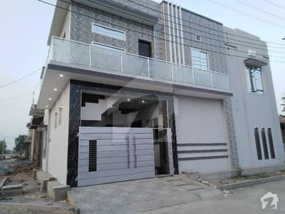 5 Marla Corner Double Storey House Is Available For Sale In Khayaban-e-naveed