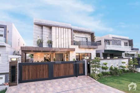 Modern Straight Line House Phase 6 One Kanal Brand New House Luxury Bungalow For Sale Offer By Richmoor Real Estate
