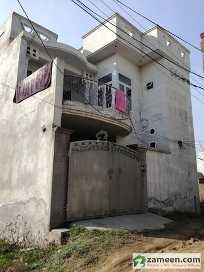 Double Storey House In Sialkot Fauji Town Opp Ajmal Garden Colony.