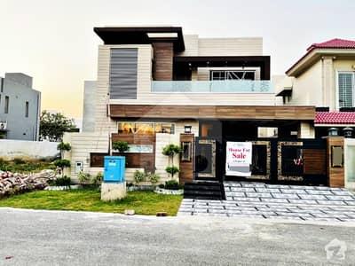 10 Marla Brand New Mazhar Munir Design Facing Park Bungalow For Sale In Phase 8
