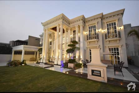 9 Bed 1000 Yards Luxury Bungalow In Bahria Town Karachi.