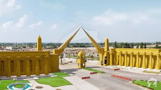5 Marla Residential Plot For Sale In Al Noor Orchard Lahore Block West Marina