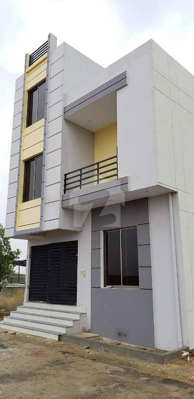 الجدید ریزیڈینسی کراچی میں 3 کمروں کا 4 مرلہ فلیٹ 50 لاکھ میں برائے فروخت۔