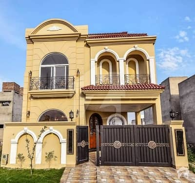 5 Marla House For Sale In Dha 9town Sapiens House Nice Location