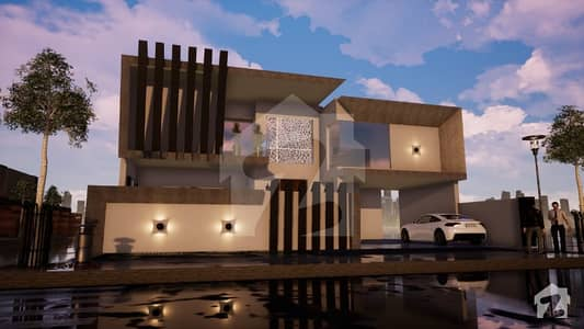 Modern Design Brand New Beautiful House For Sale In Valencia Town.