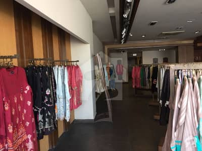 65 Marla Brand New Plaza Already Rented 49 Lac Monthly Near Mm Alam Road Gulberg
