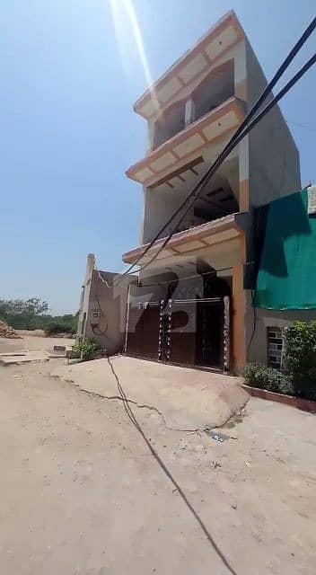 2 Marla Triple Storey Corner House For Sale In Ghauri Town Islamabad