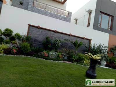 Defence 500 Sq. Yards Extraordinary Brand New Purely Architect Design Spanish Villa
