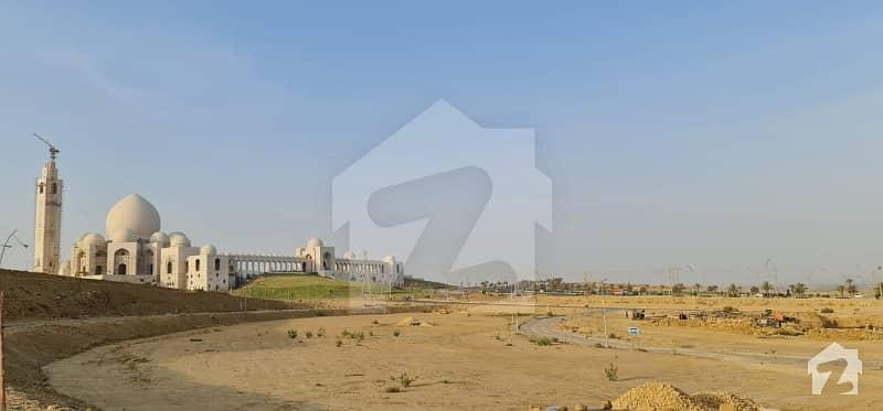 Bahria Hills Semi Corner Most Prime Location 500 Sq Yd Plot For Sale In Bahria Town Karachi Precinct-9