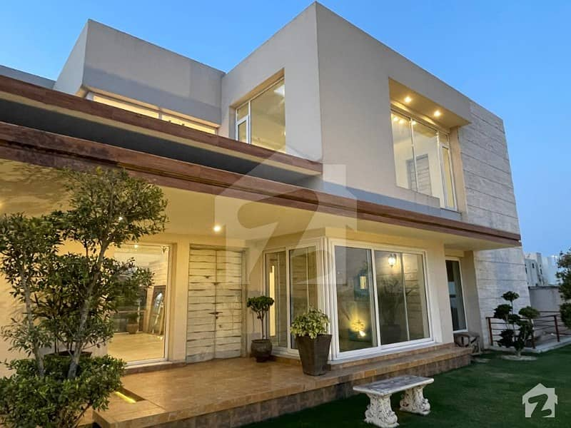 Summers Gift - 2 Kanal Semi Furnished House With Cool Swimming Pool In Dha