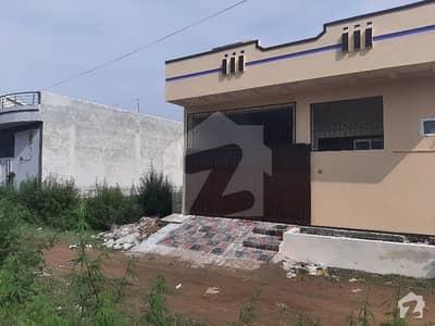 5 Marla Single Storey Brand New House For Sale Backside Of Cust University Azeem Town Sihala
