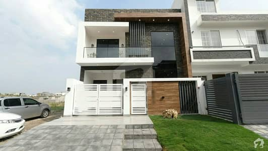 Brand New Designer Double Unit House Is Available For Sale In D-12/4 Islamabad