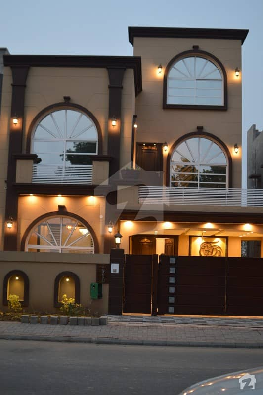 8 Marla Brand New House For Sale In D Block Bahria Orchard, Original Pictures.