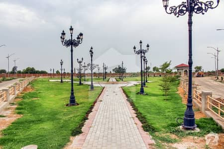 5 Marla Plot In West Marina,5 Years Payment Plan