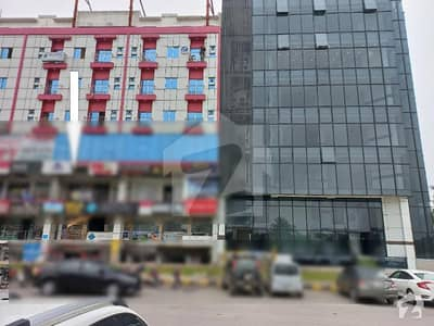 Front & Corner Shop For Sale In Entrance Of Gulberg Green Civic Centre Islamabad