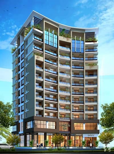 1 Bedroom Furnished Luxury Apartments On 2 Years Easy Installments In Bahria Town Karachi