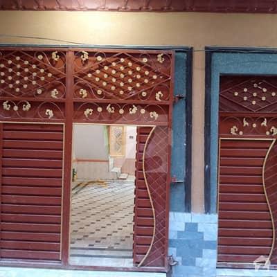 3 Marla Fresh House For Sell In Wazir Colony Near Abasyn University