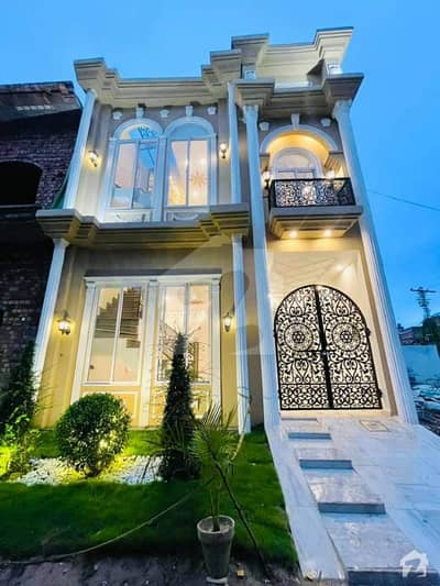3 Marla Beautifully Designed Full Spanish Modern House For Sale In Model Town Link Road