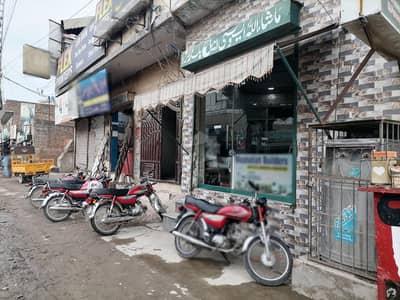 غازی روڈ کینٹ لاہور میں 1 مرلہ دکان 1.5 کروڑ میں برائے فروخت۔