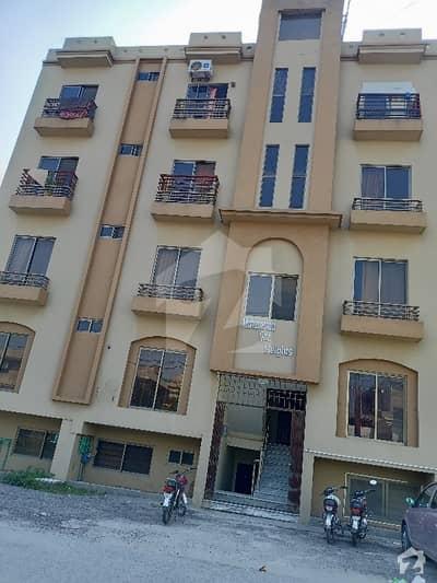 آغوش اسلام آباد میں 3 کمروں کا 4 مرلہ فلیٹ 55 لاکھ میں برائے فروخت۔