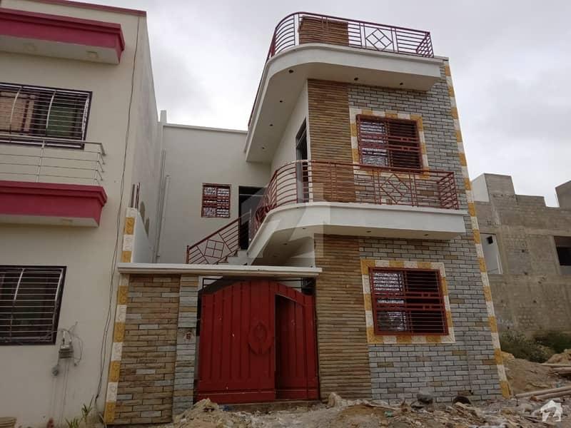 Block C 120 Sq Yard Double Storey Luxury Bungalow Is Available For Sale In Saima Arabian Villas