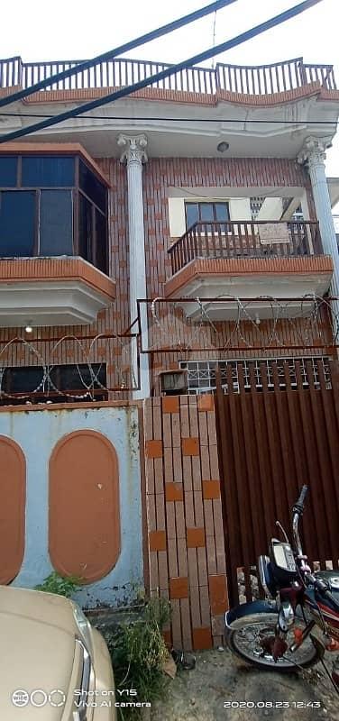 Sony Road I-10/2 Markaz Double Storey House For Sale