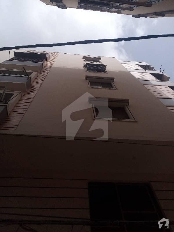 Brand  New  Flat For Sale 2 Bed Drawing Dining  Tarik Road Near Jheel Park