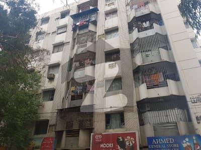3 Bed D D Flat For Sale Al Kabeer Arcade Near Bahadurabad Police Station