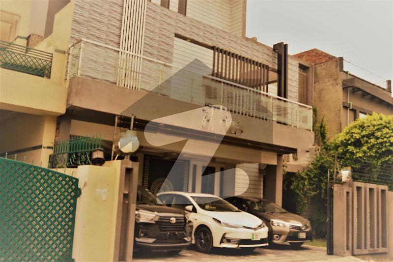 1 Kanal House For Sale In Johar Town Revenue Society