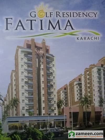 West Open Corner Apartment In Fatima Golf Residency Malir Cantt Road