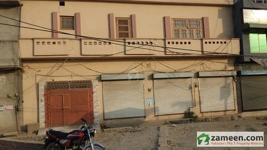 Urgent House For Sale With Three Shops