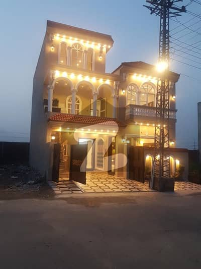 6 Marla V Vip Latest Designer Bungalow For Sale In Canal Garden Lhr
