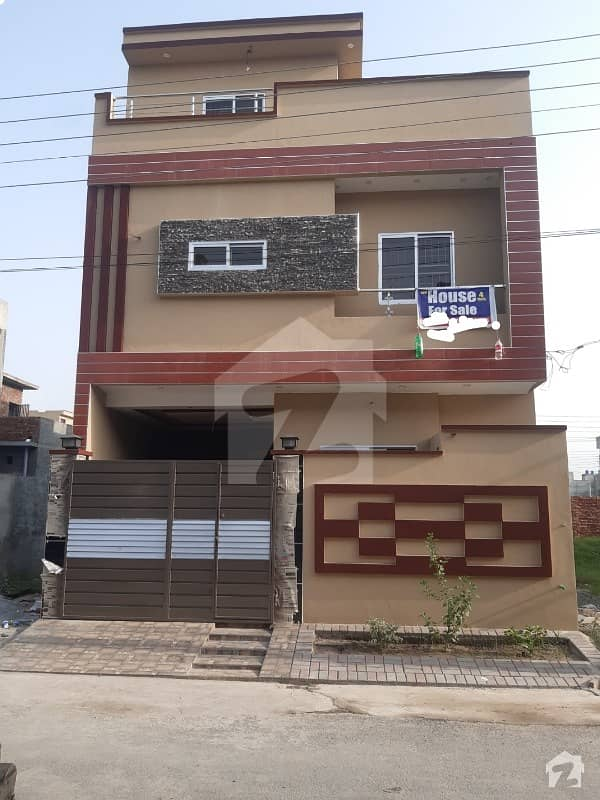 4 Marla Brand New House For Sale In A Extension Block Al Rehman Garden Phase 2