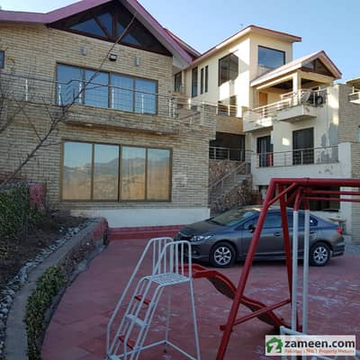 Newly Constructed House Excellent View Of Kashmir Valley And Mountains Of Nathia Gali