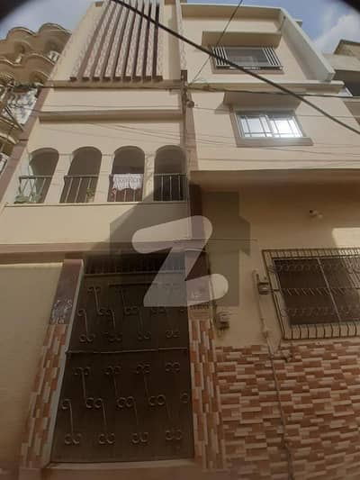 Newly Build 96 Sq. yard Ground Plus 2 Floors House Available For Sale