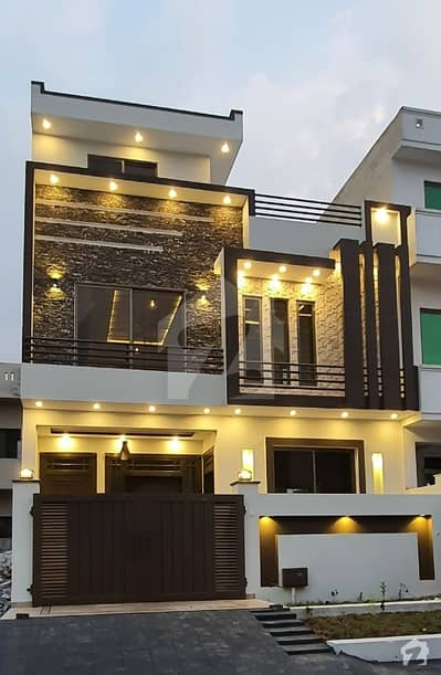 4.4 Marla's Brand New House Up For Sale In G-13/2, Islamabad.