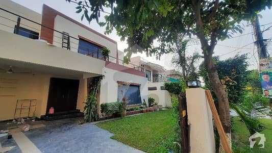 One Kanal single story House For Sale In Punjab Cooperative Housing