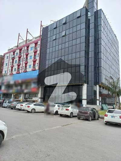 Two Bed Ready Apartment Available In Gulberg Civic Center At Very Reasonable Rate .