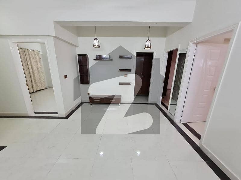 3 Bed Corner Apartment Main Road Facing 2nd Floor For Sale In Samama Mall Gulberg Greens Islamabad