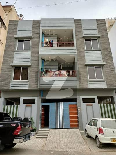 الہلال سوسائٹی کراچی میں 4 کمروں کا 10 مرلہ فلیٹ 2.52 کروڑ میں برائے فروخت۔