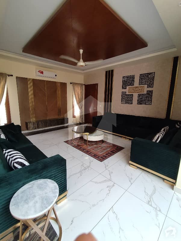 600 Yard West Open Fully Furnished Brand New Bunglow For Sale