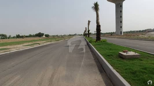 10 Marla Main Boulevard And Corner Charges Paid Plot For Sale In Overseas C Block Bahria Town Lahore