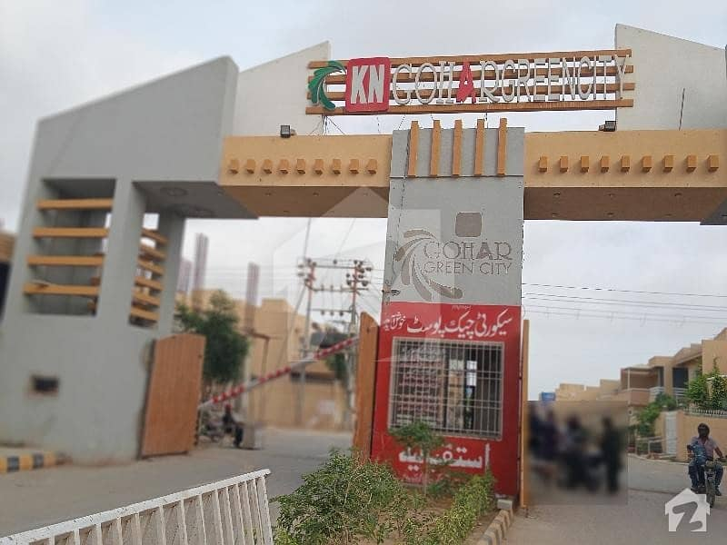 House For Sale In Kn Gohar Green City 120 Sqyd One Unit