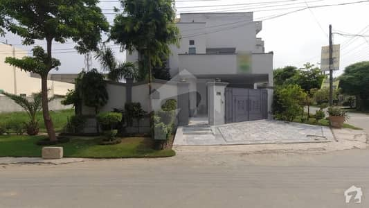 Triple Storey Corner Ideal House For Sale In UET Housing Society - Block A