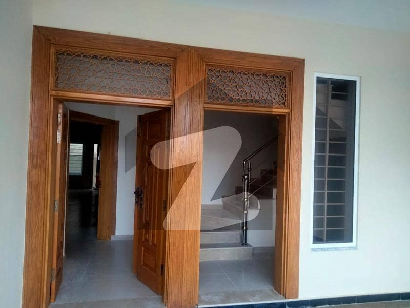 Brand New Double Storey House For Sale In Cbr Town Size 7 Marla