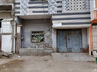 Ground +1 House Is Available For Sale In North Karachi Sector 7-b