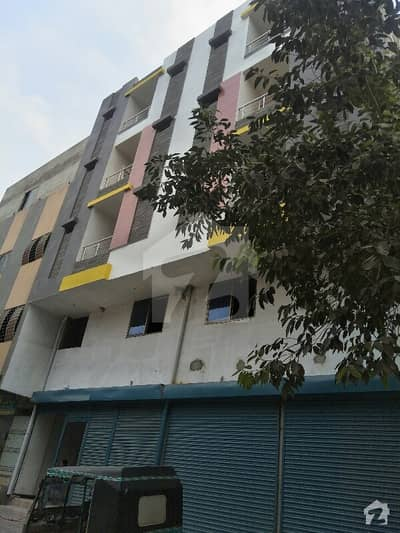 First Floor Flat Is Available For Sale