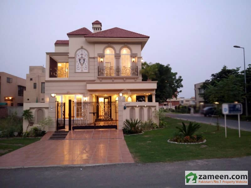 ... 10 Marla Spanish Design Brand New Beautiful Corner House Is Available  For Sale In DHA Phase
