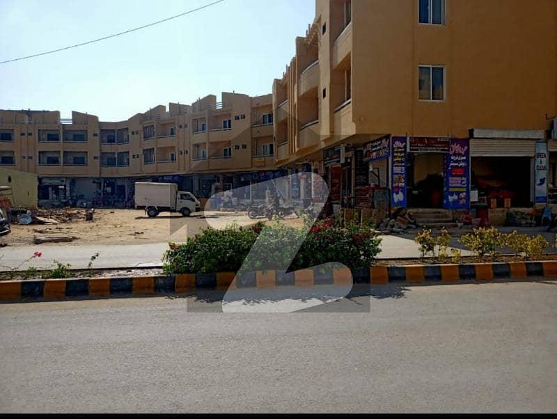 Chance Brand New 3 Bed Lounge Flat For Sale 1st Floor In Kn Gohar Green City Malir Karachi